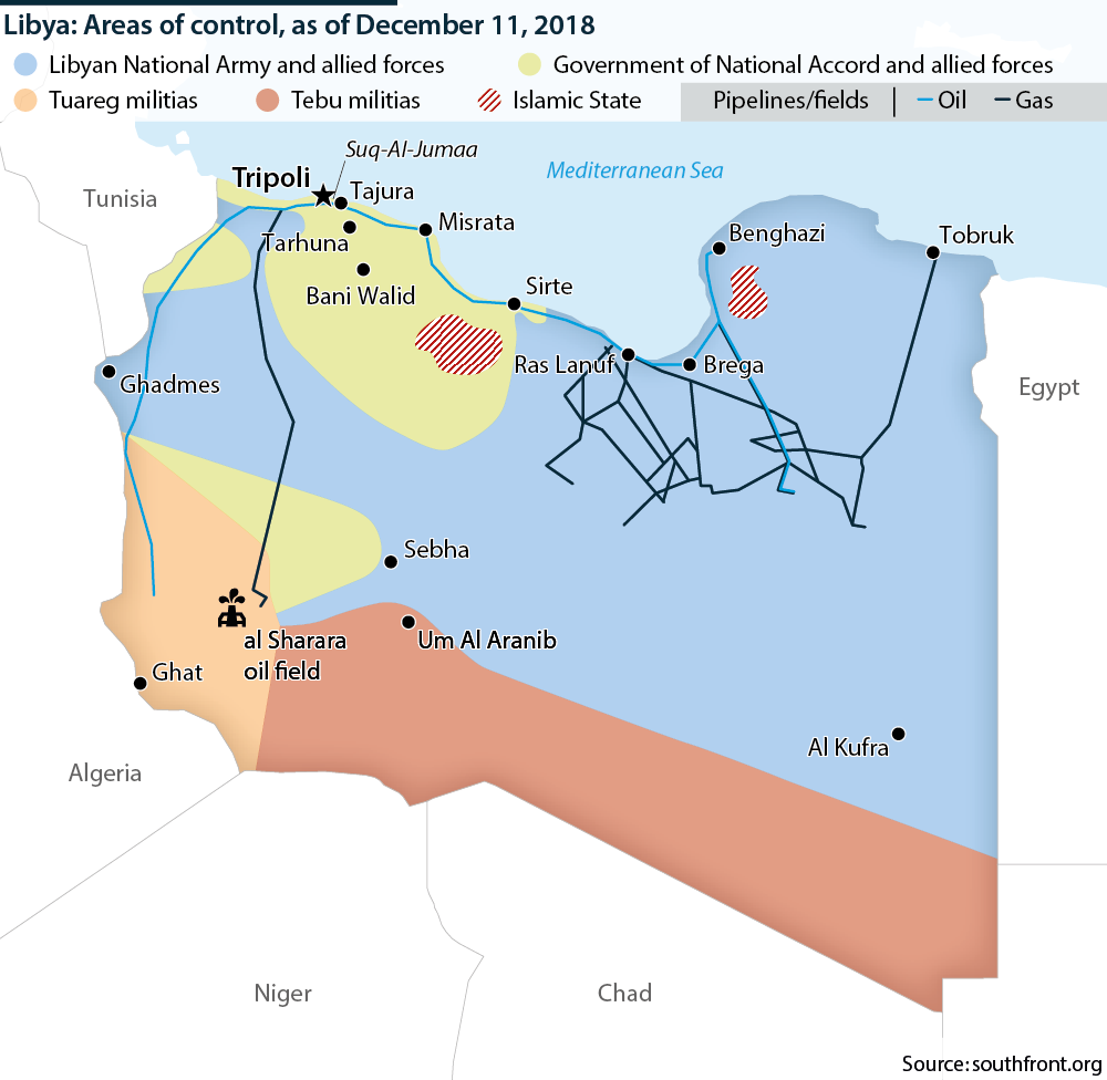 Libya: Southern unrest - Oxford Analytica Daily Brief